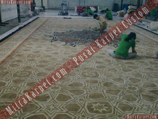 Project Karpet Masjid Rosniah Bakrie, Jungle – Bogor