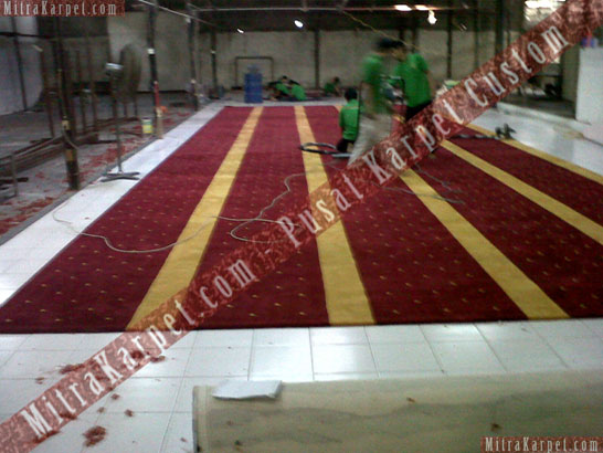 Project Karpet Masjid Pesona Depok