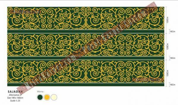 Desain Karpet Masjid Custom MitraKarpet