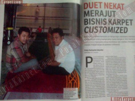 CV. MITRA KARPET INDONESIA: TERPILIH SEBAGAI YOUNG ENTERPRENEUR MUDA VERSI MAJALAH SWA EDISI 13 JULI 2013