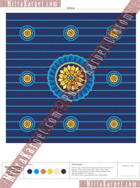 Desain Karpet Masjid Bimantara MNC Tower Kebon Sirih Jakarta Pusat