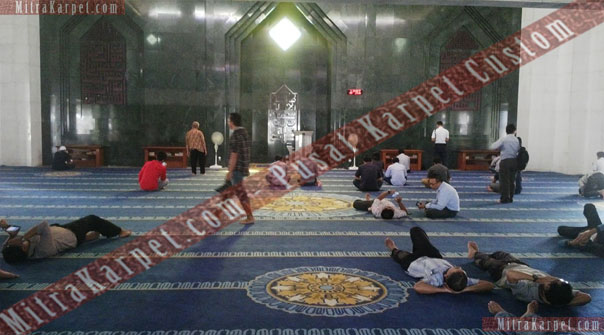 Karpet Masjid Bimantara MNC Tower Kebon Sirih Jakarta Pusat