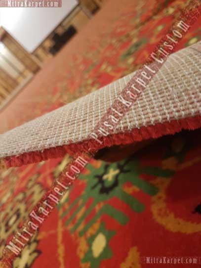 Ketebalan Karpet Axminster yang dipakai untuk Karpet Ballroom Hotel