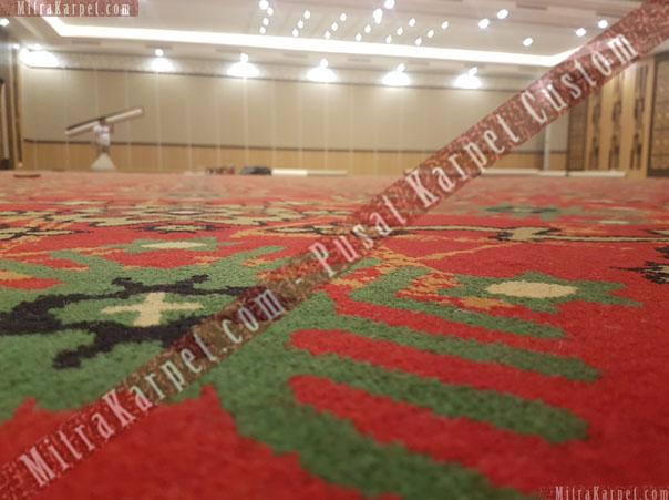 Karpet Axminster terpsang untuk karpet Hotel terlihat indah