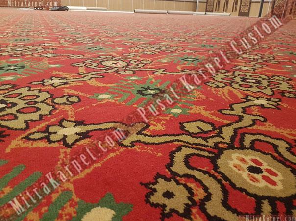 Corak Karpet Axminster Karpet Ballroom Hotel Makassar