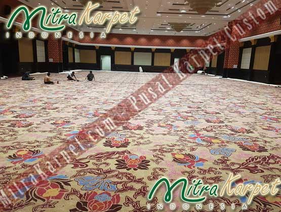 Karpet Hotel Ballroom Dipasang Mitra Karpet