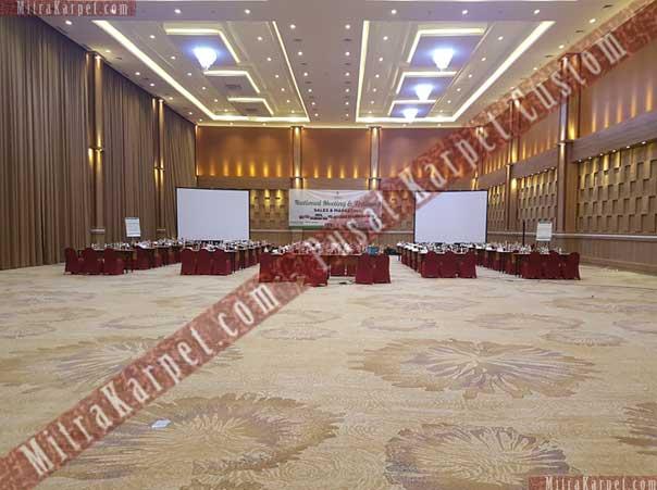 Hasil Pemasangan Karpet Hotel Sahid Eminence Ciloto Jawa Barat