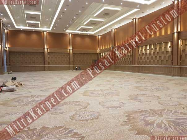 Pemasangan Karpet Hotel Sahid Eminence Ciloto Jawa Barat