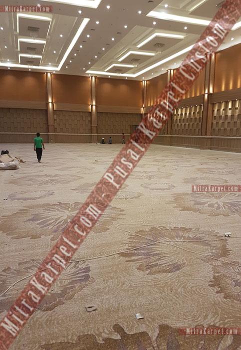 Pemasangan Karpet Hotel Sahid Eminence Ciloto Jawa Barat dengan Tenaga Ahli dan Berpengalaman