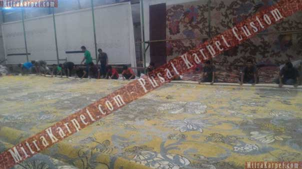 Finishing Karpet Ballroom Hotel Crystal–Kuta Bali