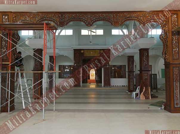 Interior Masjid Darul Taqwa Malaysia