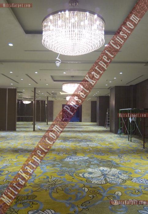 Karpet Ballroom Hotel Crystal–Kuta Bali