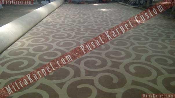 Karpet Ballroom Hotel Kamojang Siap Dipasang