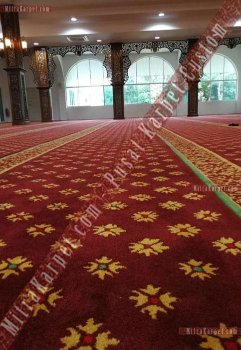 Karpet Masjid Berkualitas Darul Taqwa Sarawak Malaysia
