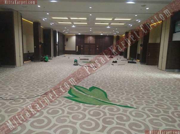 Kualitas Karpet Ballroom Hotel Kamojang – Garut Jawa Barat