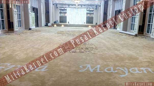 Kualitas karpet aula kantor gubernur jambi