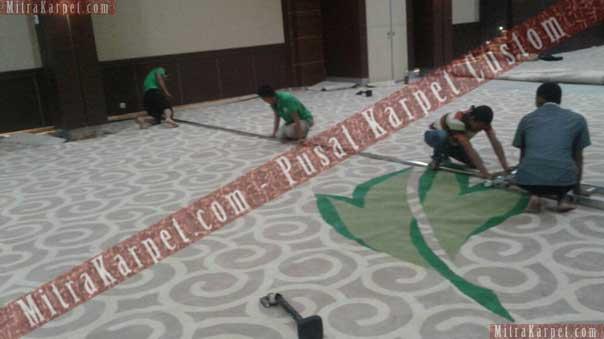 Pemasangan Karpet Ballroom Hotel Kamojang – Garut Jawa Barat