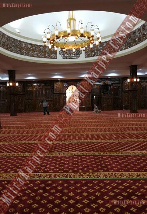 Pemasangan Karpet Masjid Darul Taqwa Sarawak Malaysia