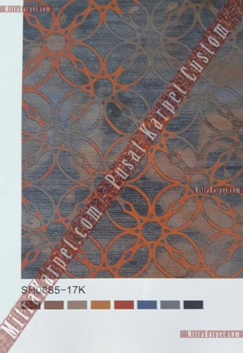 desain karpet ballroom hotel golden tulip pekanbaru