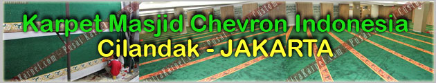 Proyek Karpet Masjid Chevron Jakarta