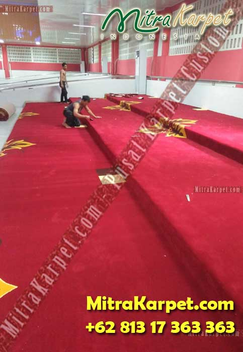 Karpet Axminster Ballroom IAIN Padang Terpasang MitraKarpet.com +62 813 17 363 363