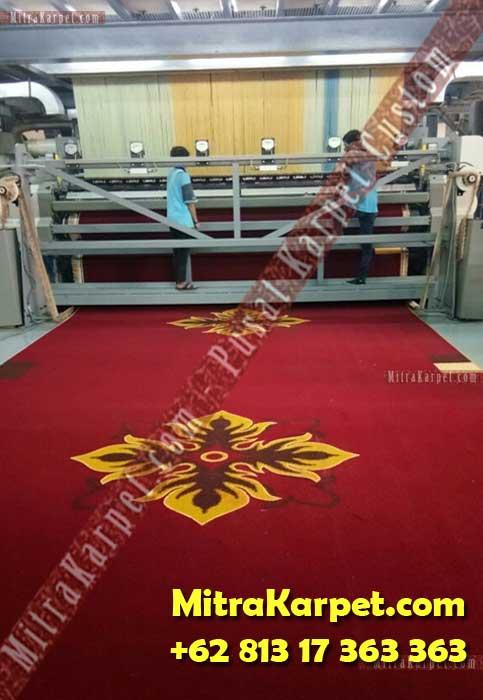 Mesin Karpet Ballroom Axminster IAIN Imam Bonjol Padang MitraKarpet.com +62 813 17 363 363
