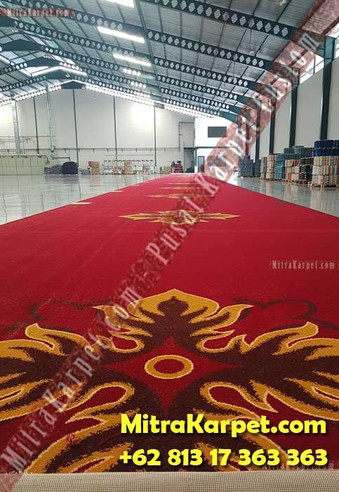 Pabrik Karpet Ballroom Axminster IAIN Imam Bonjol Padang MitraKarpet.com +62 813 17 363 363