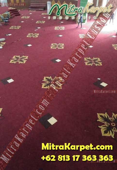 Pasang Karpet Ballroom Axminster IAIN Imam Bonjol Padang MitraKarpet.com +62 813 17 363 363