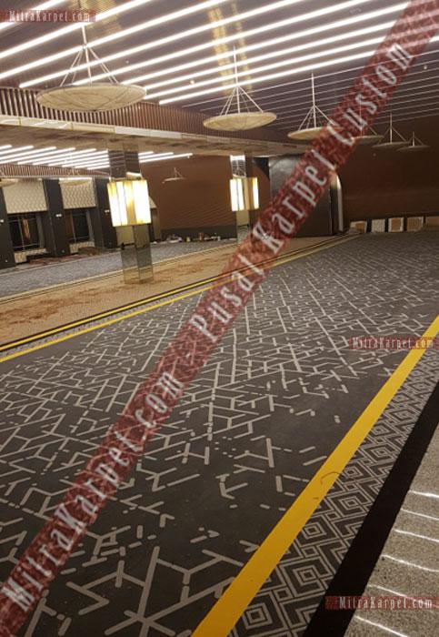 Pemasangan Karpet Axminster untuk Karpet Ballroom Plaza Bapindo Jakarta