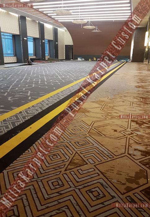 Pusat Karpet Ballroom Custom Terbaik Jakarta Bapindo