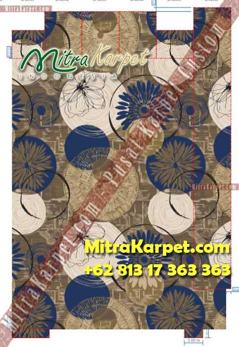 Desain Karpet Ballroom Custom Gedung Patra Jasa