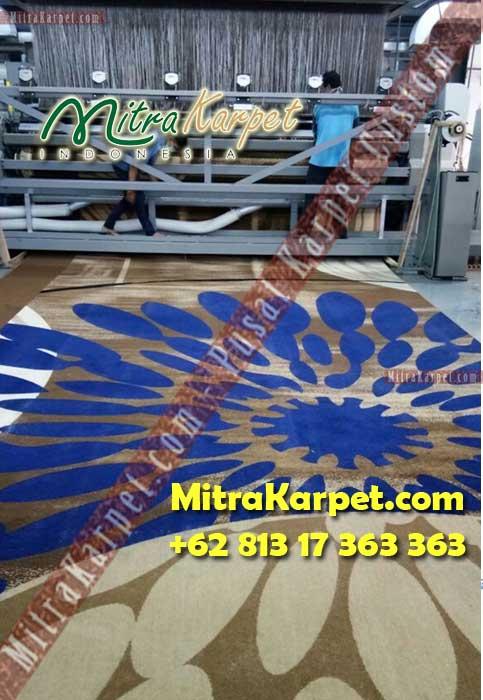 Pabrik Karpet Axminster Custom Ballroom Gedung Patra Jasa