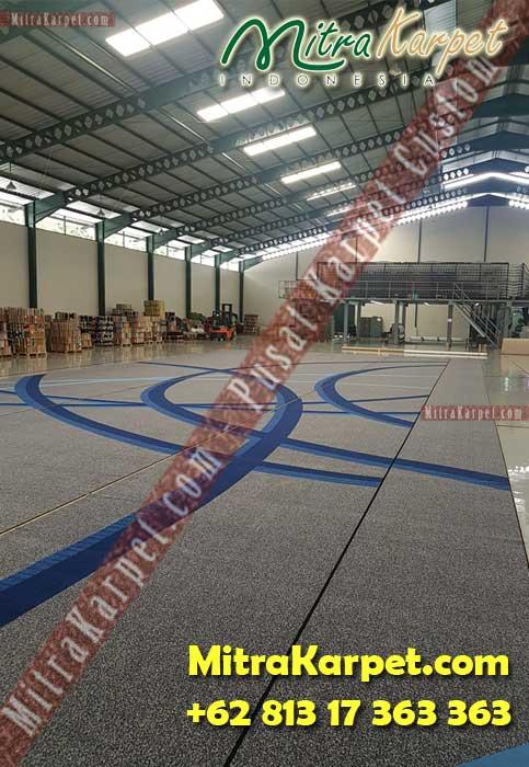 Finishing Karpet Bandara Kualanamu Medan