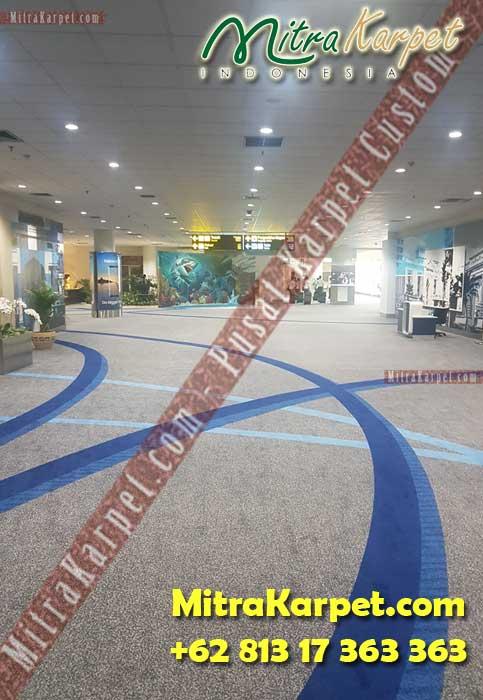 Karpet Axminster Bandara Kualanamu Medan