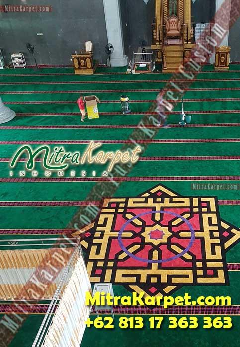 Karpet Masjid Custom Samarinda Al Maruf Kalimantan Timur