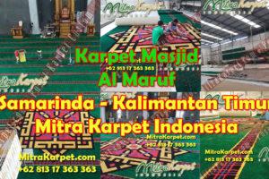 Karpet Masjid Custom – Masjid Al Maruf Samarinda Kalimantan Timur