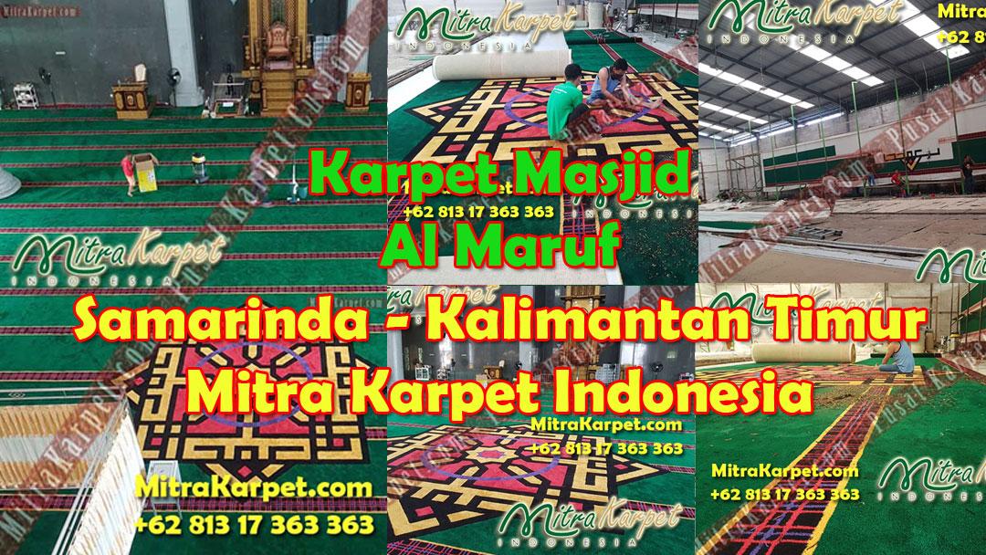 Karpet Masjid Custom Samarinda Al Maruf
