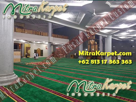 Pemesanan Karpet Masjid Custom Samarinda Al Maruf Kalimantan Timur