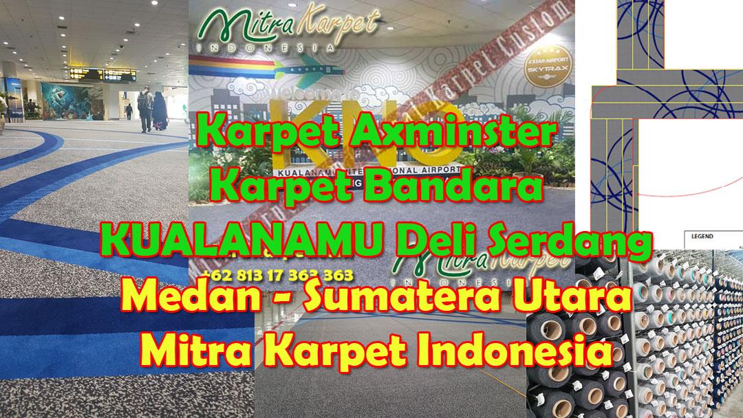 Project Karpet Bandara Kualanamu Medan