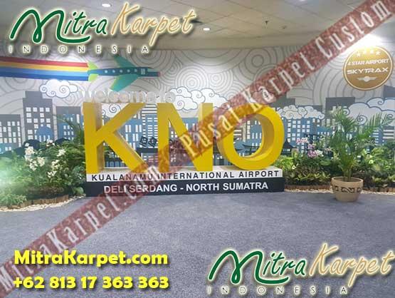 Project Karpet Axminster Bandara Kualanamu Medan