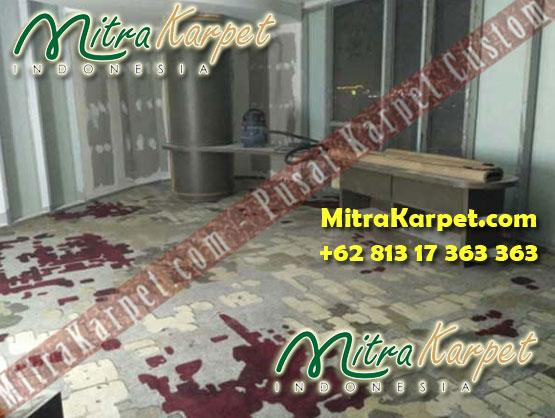 Hasil Pemasangan Karpet Axminster Hotel Surabaya Hilton