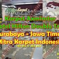 karpet axminster hotel surabaya hilton double tree