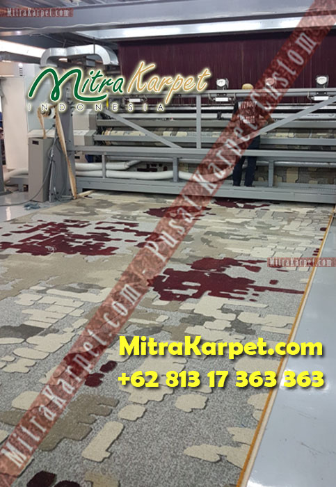 mesin karpet axminster hotel hitlon surabaya