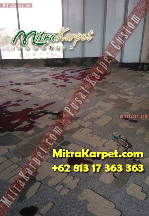 Pemasangan Karpet Axminster Hotel Hilton Surabaya