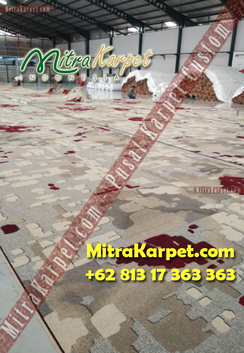 Produksi Karpet Axminster Hotel Hilton Surabaya