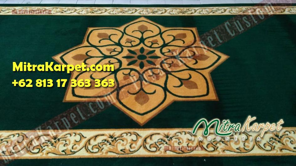 corak pabrik karpet masjid bintan utara terbaik