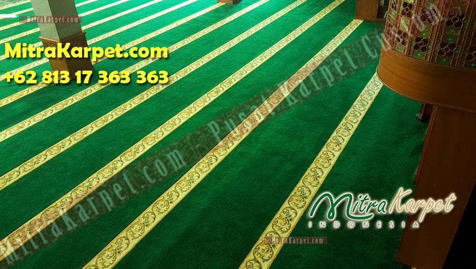Karpet sajadah masjid bintan utara terbaik