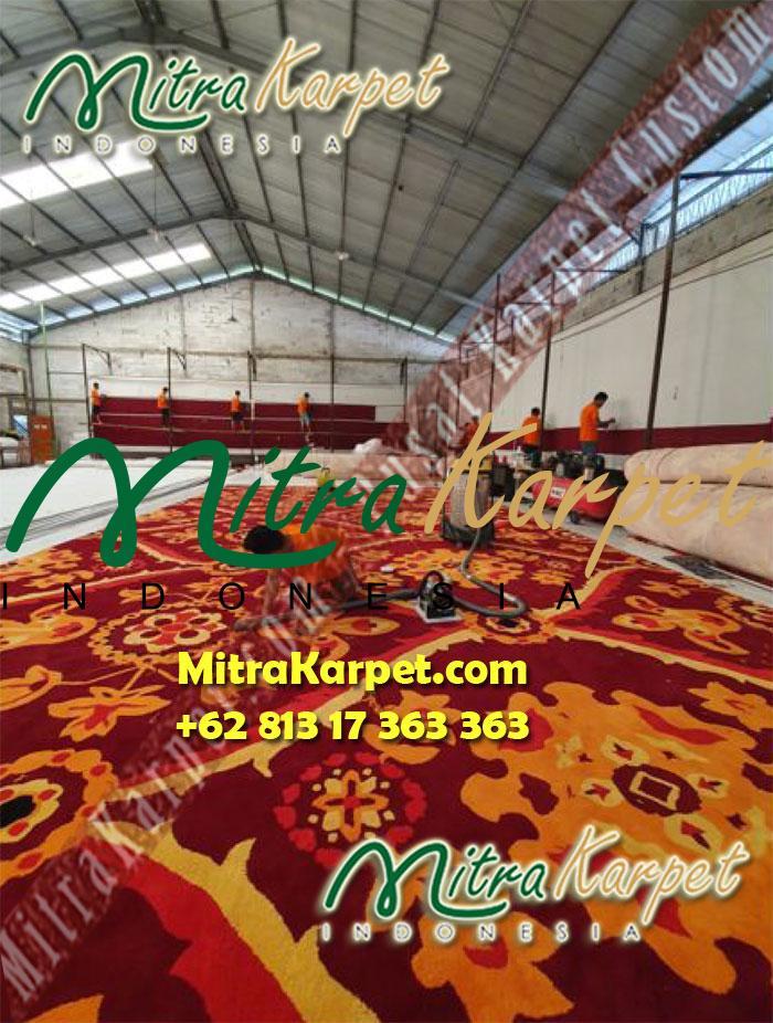 finishing pabrik karpet ballroom kemenkeu