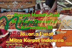 Project Karpet Ballroom Gedung Dhanapala – Kementrian Keuangan Republik Indonesia