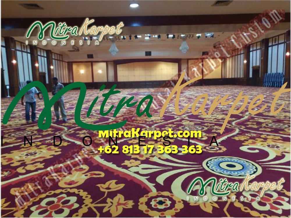 tender karpet ballroom departemen keuangan